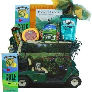 Gone Golfing Golf Cart Gift Bag Tote