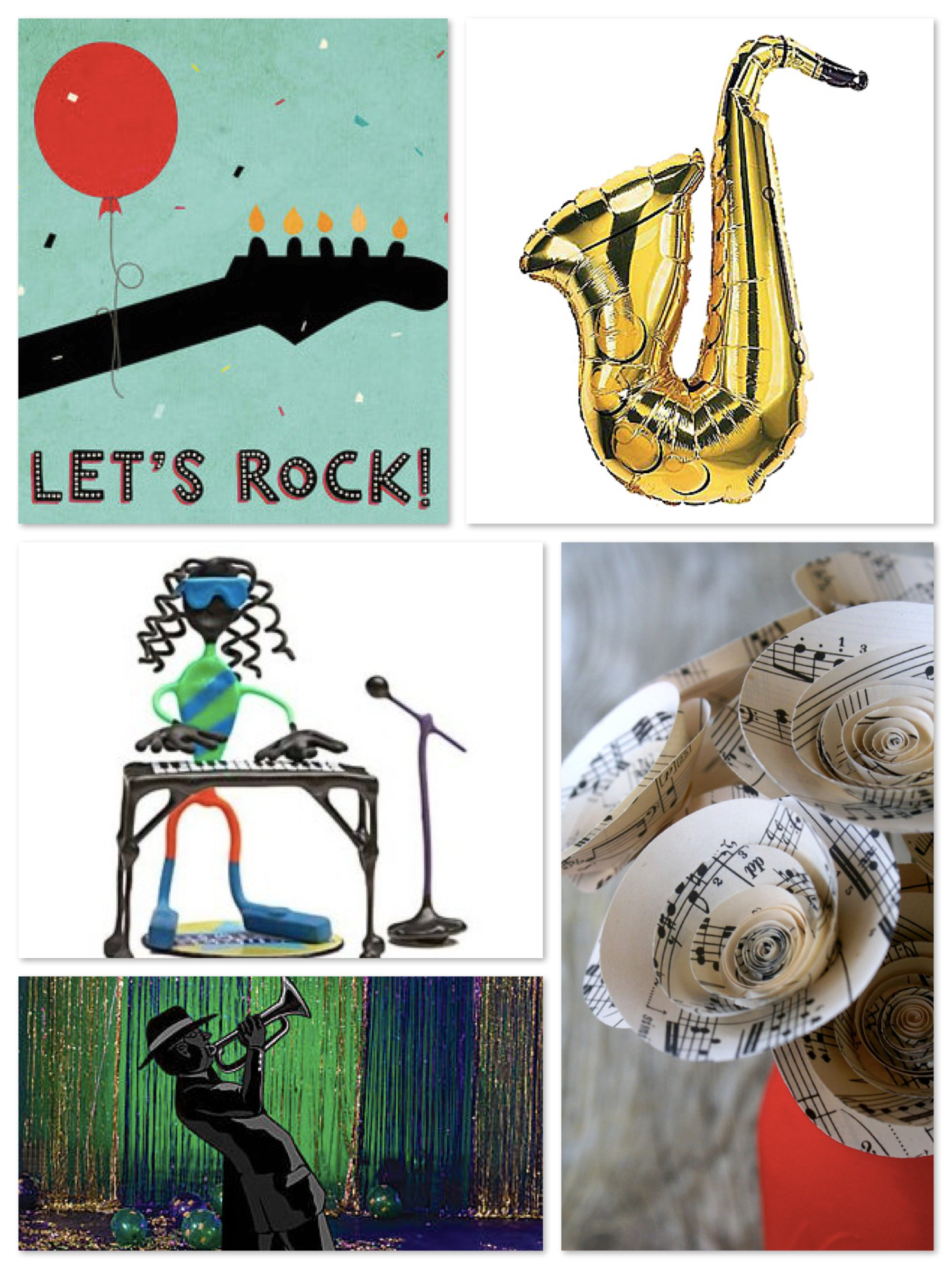 The Melodies of Life >> A Music Party Theme | Party Supplies ...