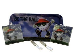 Serving Tray & Spreader Gift Set - Be the Ball