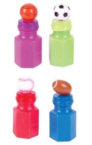 Sport Theme Bubble Bottles
