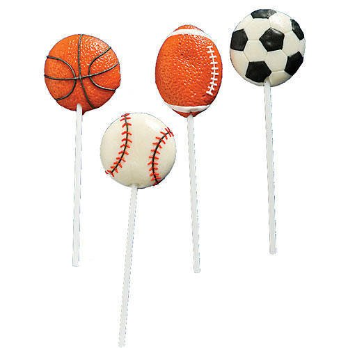 Sports Ball Lollipops