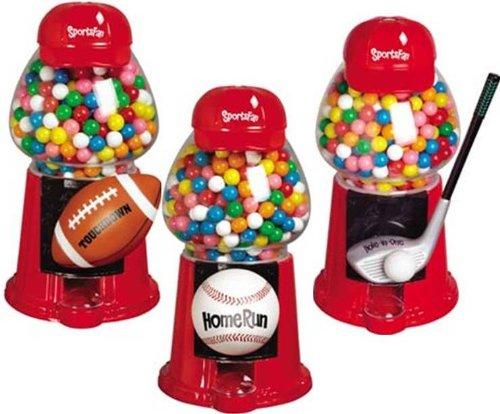 Sports Gumball Machines