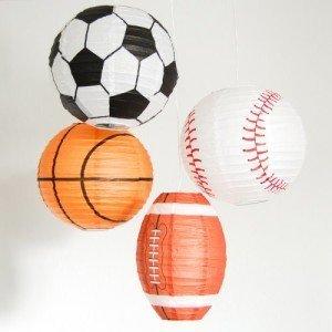 Sports Paper Lanterns