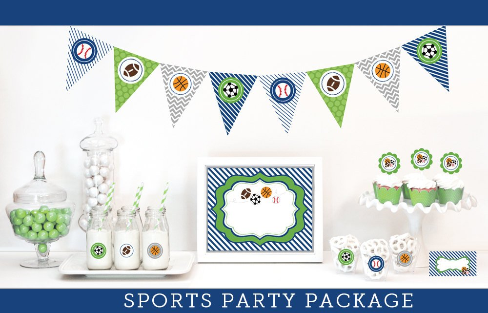 Sports Party Decoration Package