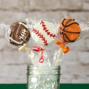 Sports Theme Chocolate Covered Oreo Pop