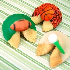 Sports Theme Party Fortune Cookie