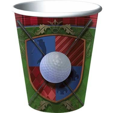 Tee Time Golf Cups