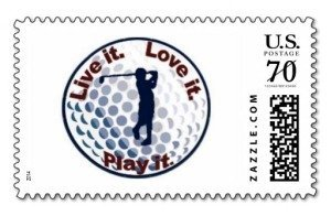 live it love it golf stamp