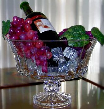 Wine Party Centerpiece