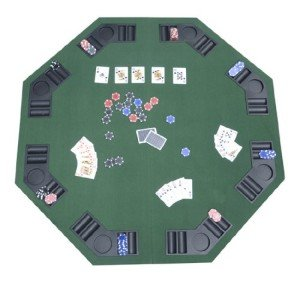 Poker Texas Traveller Table Top Blackjack Card Game Table Top