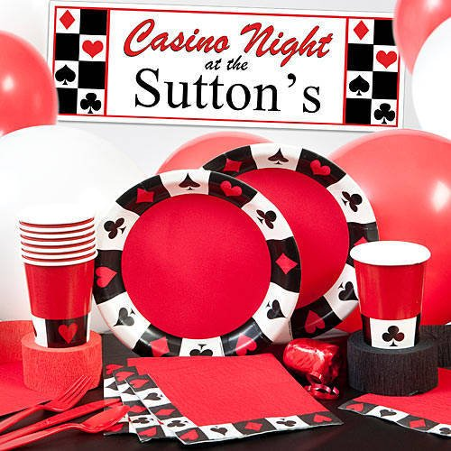 Card Game Party, Card Night Party Supplies