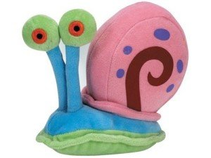 Gary the Snail plush Toy