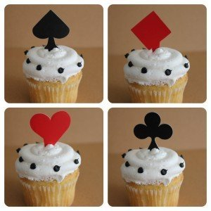 Playing Card Cupcake Picks