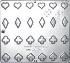 Playing Cards Suits Chocolate Candy Mold