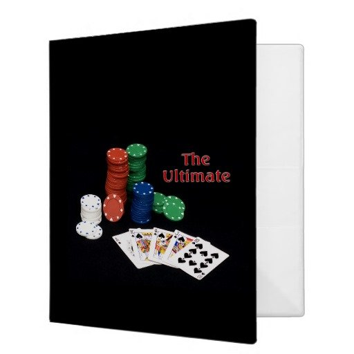 Poker Royal Flush Binder