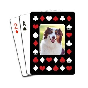 Red And White Suits Playing Cards