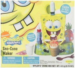 SpongeBob Sno Cone Maker