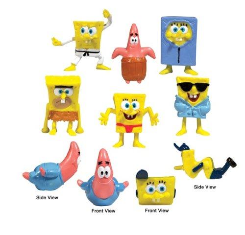 SpongeBob SquarePants Birthday Party Figurine Set