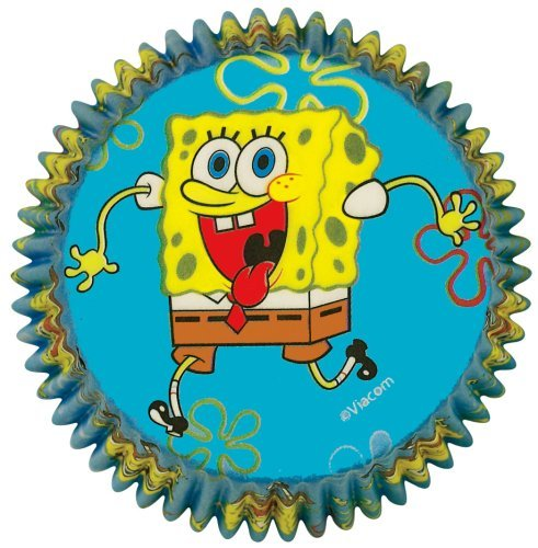 SpongeBob Squarepants Cupcake Wrappers