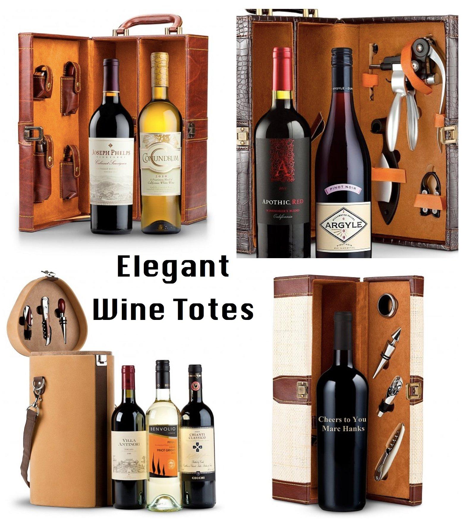 Elegant Wine Totes