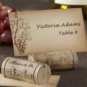 Maison du Vin Wine Cork Place Card Holders