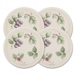 Pfaltzgraff Grapevine Naturestone Coasters