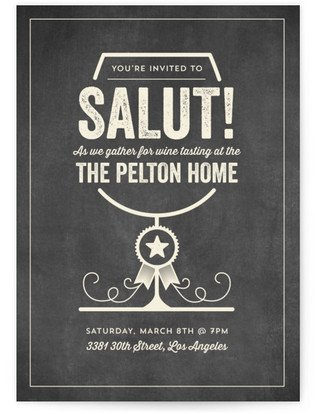 Salut - Cocktails Cocktail Party Online Invitations