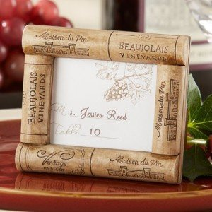 Wine Cork Place Card Holder Frame