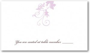 Wine Country Place Cards