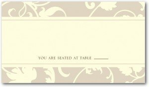Wine Vine Place Cards