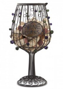 wine cage glass