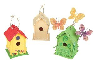 Design Your Own! Wooden Birdhouses