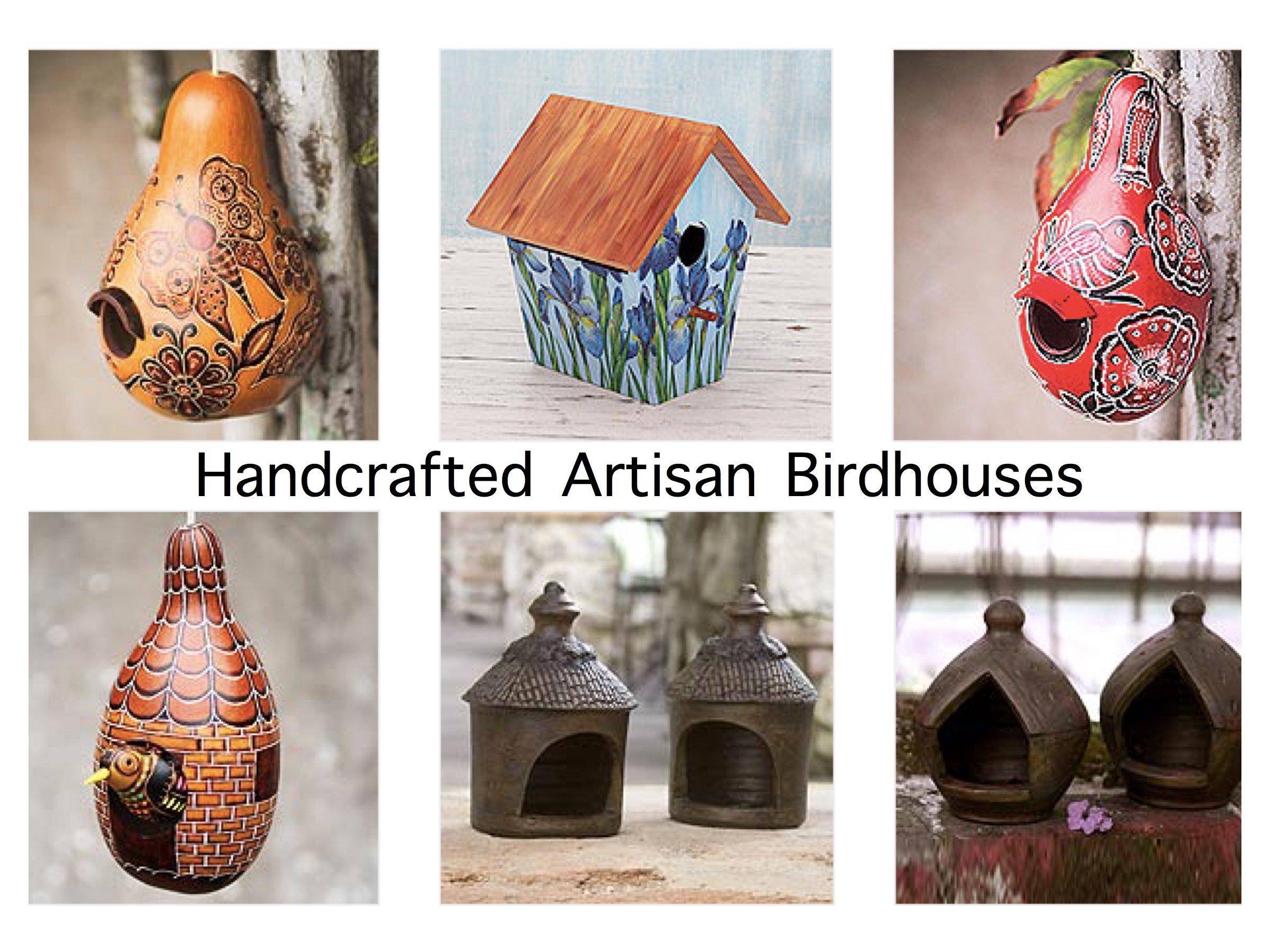 Handcrafted Artisan Birdhouses
