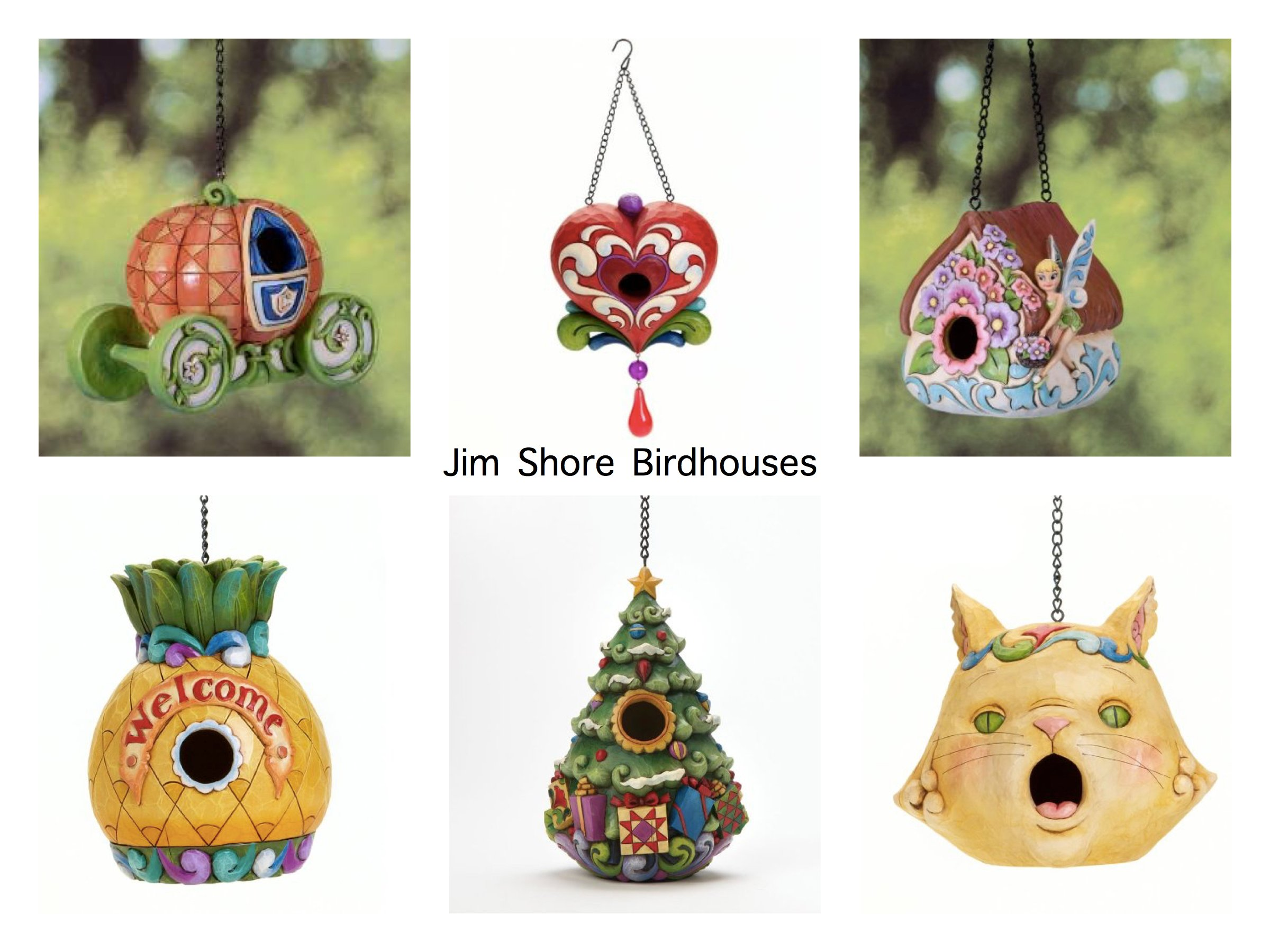 Jim Shore Birdhouses
