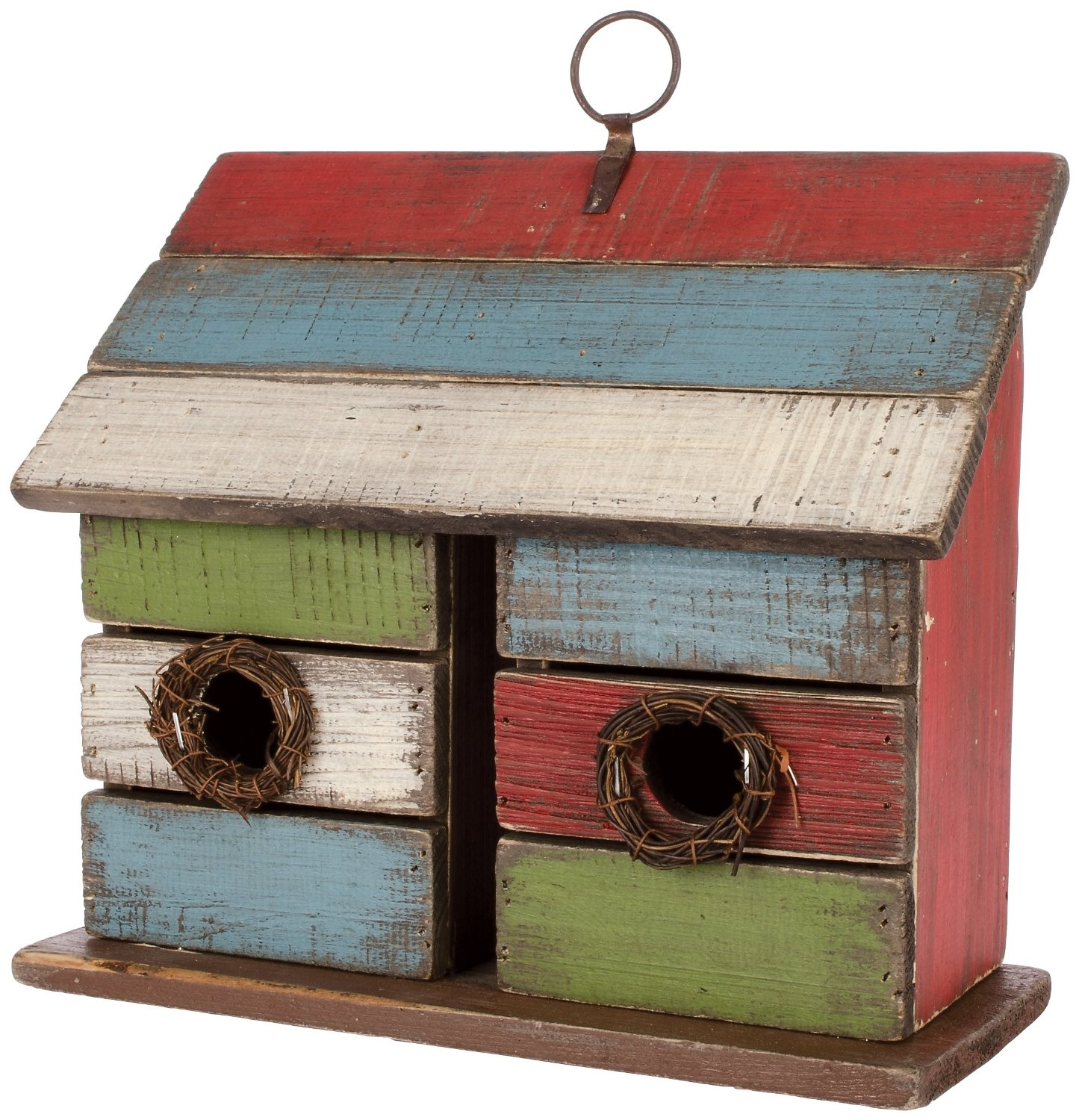 Vintage Double Birdhouse