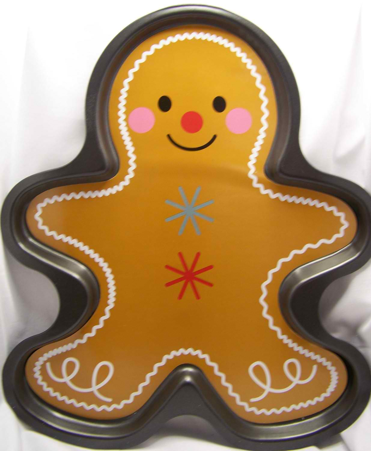 Gingerbread Boy Cake Pan