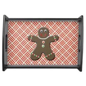 Gingerbread Boy Platter