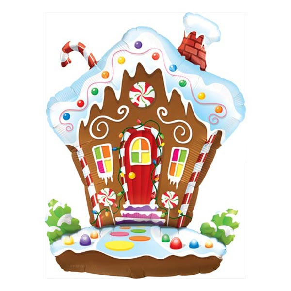 Gingerbread House Balloon, Gingerbread Delights