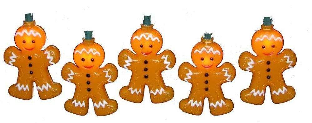 Gingerbread Light Set