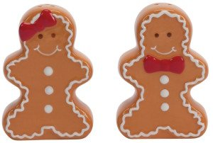 Gingerbread Sugar and Spice Salt and Pepper Set
