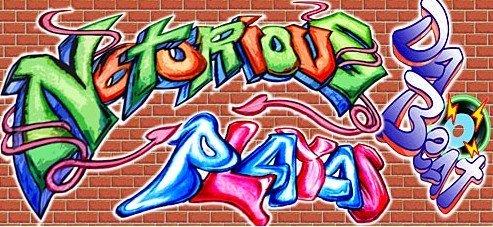 Graffiti Wall Backdrop