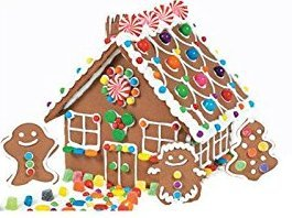 Holiday Gingerbread House Kit