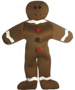 Gingerbread Man Costume