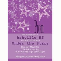 Star Prom Invitation