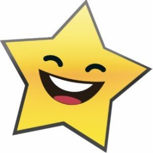 cute laughing smiling star power photo sculptures centerpiece