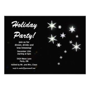 star sparkle party invite