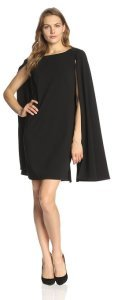 Adrianna Papell Women's Structured Cape Sheath