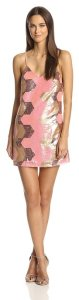 Glamorous Women's Strappy Sequin Dress