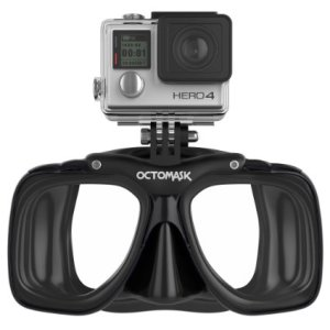 GoPro Hero4 Scuba Mask - for diving with GoPro Hero4 Black, Silver, and White Accessory