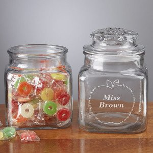 Inspiring Teacher Candy Jar with LifeSavers